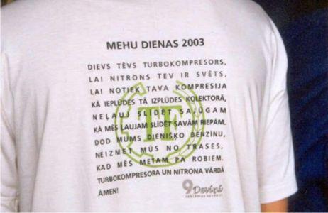 9 Mehu dienas 2003 20
